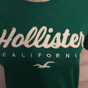 Green Hollister Tee